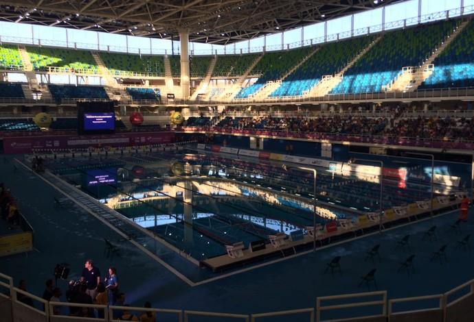 Estádio Aquático, Maria Lenk, apagão (Foto: Fabrício Marques)