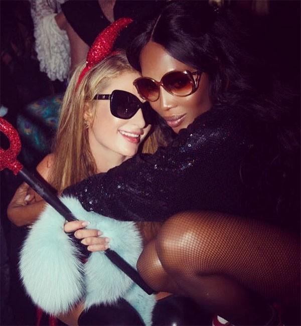 Paris HIlton e Naomi Campbell (Foto: Divulgação)