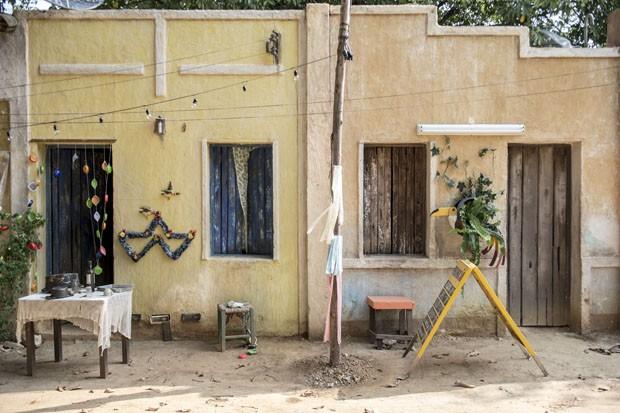 Fachadas das casas da cidde (Foto: Divulgação)