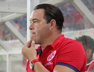 Roberto Fernandes - técnico do América-RN (Foto: Diego Simonetti/ Blog do Major)