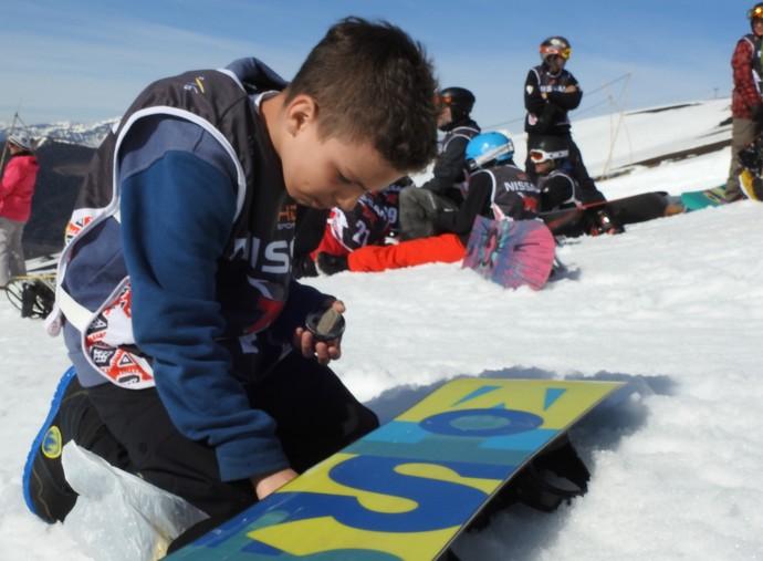 Augistinho Teixeira brasileiro argentino snowboard (Foto: Thierry Gozzer)