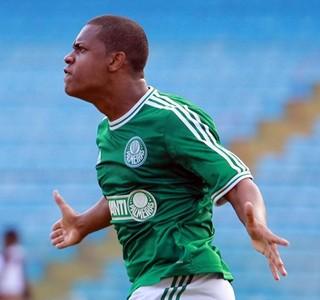 Erik, atacante do Palmeiras sub-20 (Foto: Ag. Palmeiras / Divulgação)