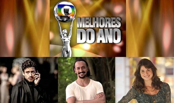 Jesuita Barbosa, Irandhir Santos e Chandelly Braz estão concorrendo ao Melhores do Ano (Foto: Arte TV Grande Rio)
