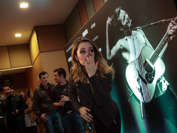 Sandy em pré-estreia de filme em São Paulo (Foto: Marcos Ribas/ Brazil News)