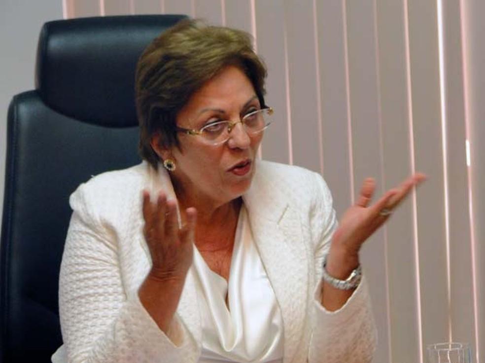 Rosalba Ciarlini, ex-governadora do RN e atual prefeita de Mossoró, é investigada (Foto: Ricardo Araújo/G1)