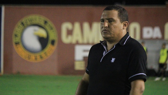 RN - Higor César, técnico do Globo FC (Foto: Diego Simonetti/Blog do Major)