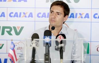 Diego Cerri confirma procura do Bahia por um goleiro e mais um atacante