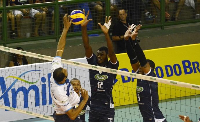 Cruzeiro Vôlei x São José Vôlei Superliga Masculina quartas de final (Foto: Divulgação/SADA Cruzeiro)