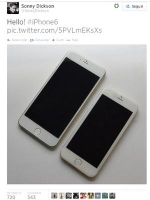 Novo iPhone pode ter dois tamanhos