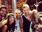 Ex-participantes do 'Big Brother Brasil 14' curtem a noite carioca