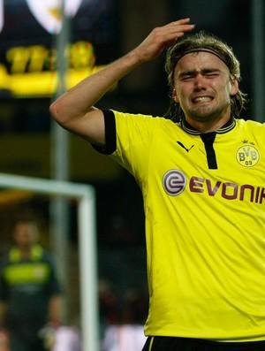 Schmelzer Borussia Dortmund x Stuttgart  (Foto: Reuters)