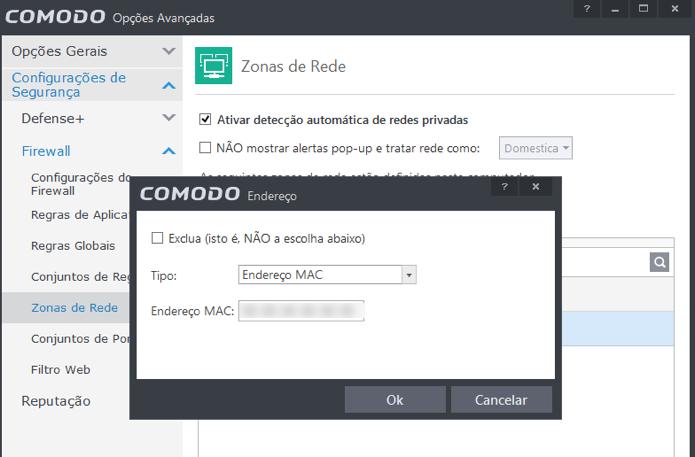 Insira o endereço MAC da sua máquina (Foto: Reprodução/Paulo Alves)