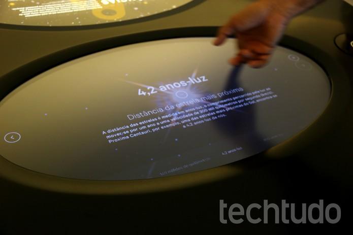 Cérebro do Museu armazena terabytes de informações (Foto: Luana Marfim/TechTudo)