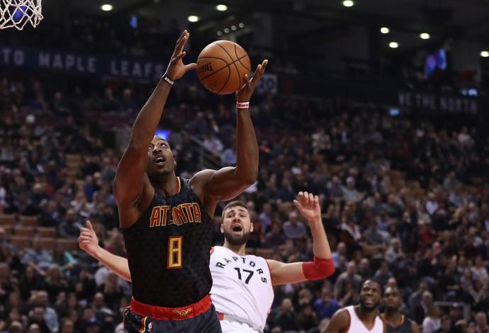Dwight Howard Atlanta Hawks x Toronto Raptors (Foto: Steve Russell/Getty Images)