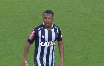 Robinho destaca postura apresentada pelo time e celebra vantagem do Galo