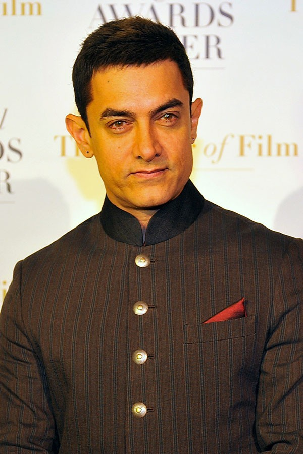 Aamir Khan - 14 de março (Foto: Getty Images)