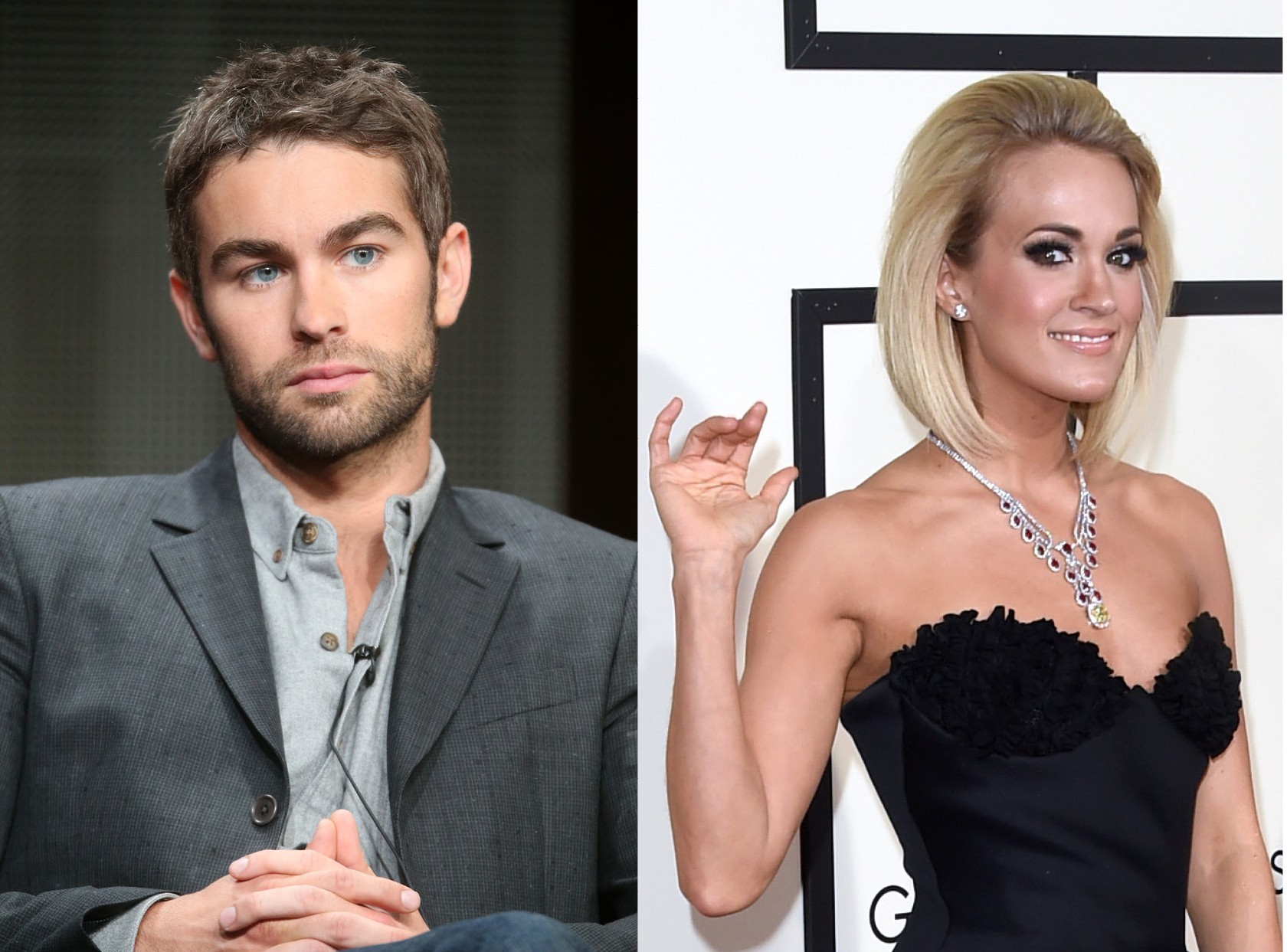 Chace Crawford e Carrie Underwood (Foto: Getty Images)