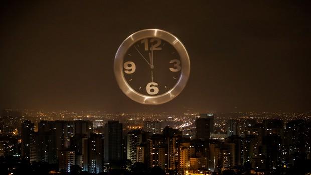Horário de verão ; relógio ; tempo ;  (Foto: Rafael Neddermeyer/Fotos Públicas)