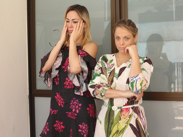 Ju Isen e Jessica Lopes (Foto: Iwi Onodera)