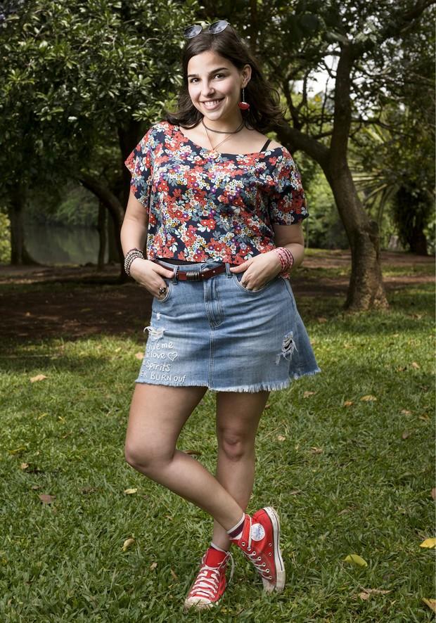 Gabriela Medvedovski vai interpretar a personagem Keyla na nova temporada de Malhação (Foto: Globo/Ramón Vasconcelos)