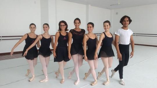 Bailarina por um dia