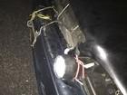 Motorista usa lanternas no lugar de faróis queimados e é multado
