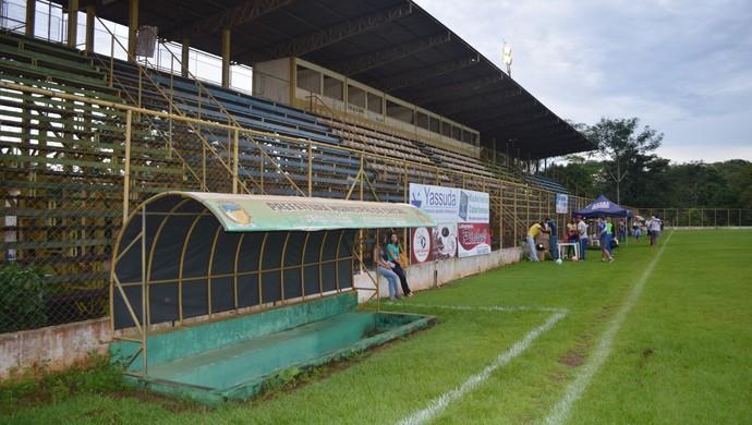 União Cacoalense deve apresentar jogadores no dia 20 de fevereiro (Foto: Rogério Aderbal)