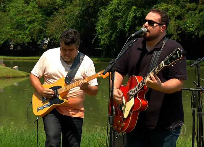A banda Sarravulho vai animar o 'Meu MS' de sábado (28) (Foto: TV Morena)