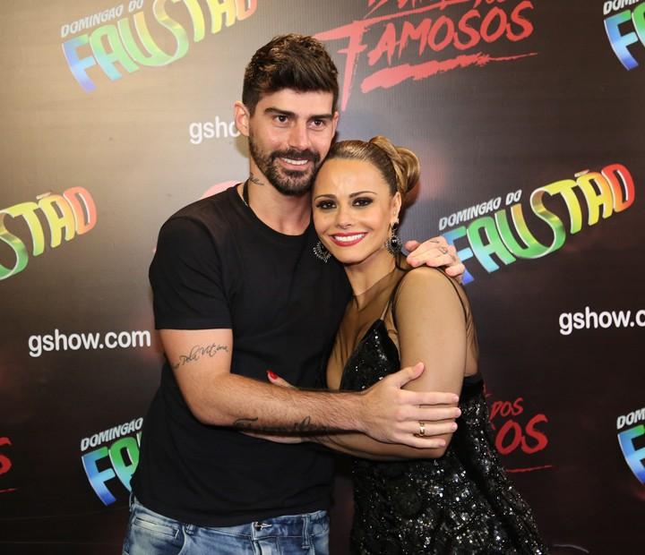 Viviane Aráujo e Radamés (Foto: Carol Caminha/Gshow)