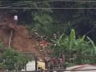 Mulher é encontrada morta após deslizamento de terra em Cajati, SP