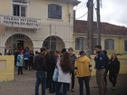 Estudantes protestam contra a reforma do ensino médio no Paraná