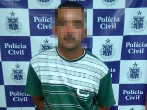 Homem foi preso na segunda-feira (12), na cidade de Amargosa (Foto: Divulgação/ Polícia Civil)