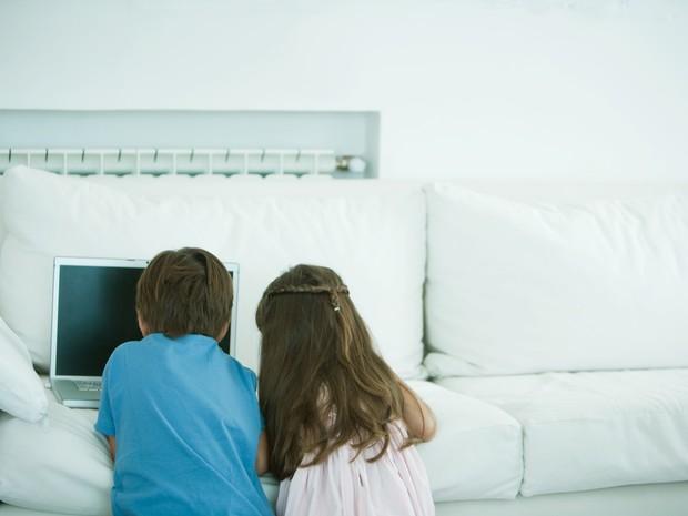 Crianças e redes sociais: uma mistura que não combina (Foto: ThinkstockPhotos)