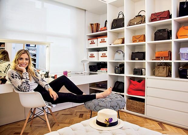 """""""Eu gosto de roupas do dia a dia, como uma calça jeans rasgada. O que mais tenho no meu armário são roupas despojadas""""  (Foto:  )"""