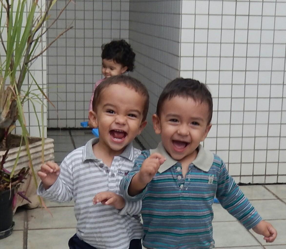 filhos Paola (Foto: Arquivo Pessoal)