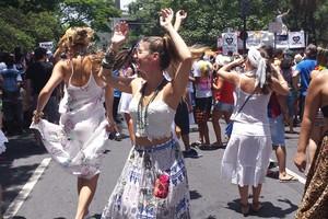 Veja fotos da festa na capital e em Ouro Preto (Tábata Poline / G1)