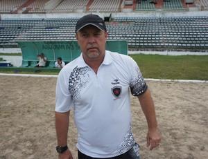 Pedro Manta, novo treinador do Botafogo-PB (Foto: Lucas Barros)