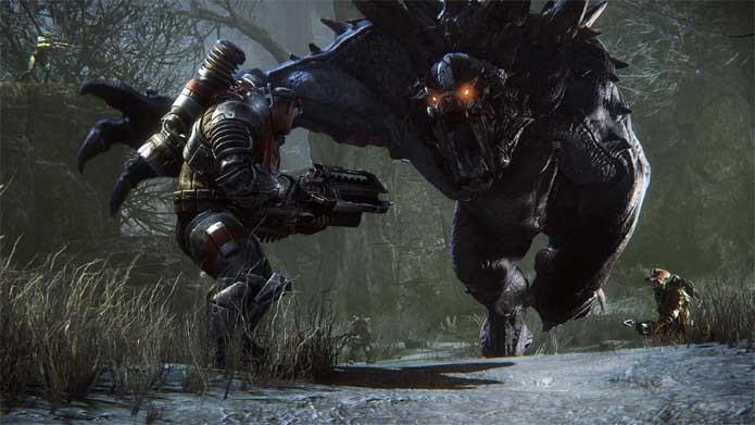 Evolve é uma das ofertas do Xbox One (Foto: Divulgação/2K Games)