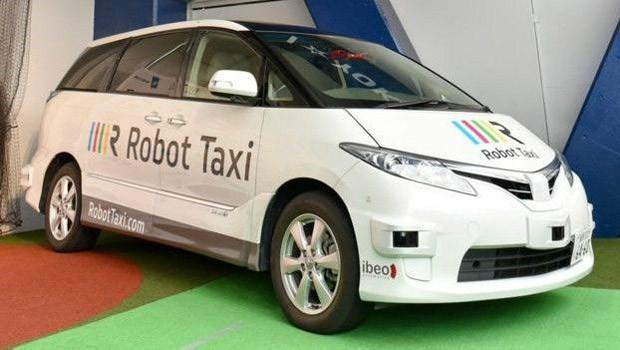 Fabricante japonesa quer desenvolver carros que dispensam completamente motoristas (Foto: Robot Taxi)