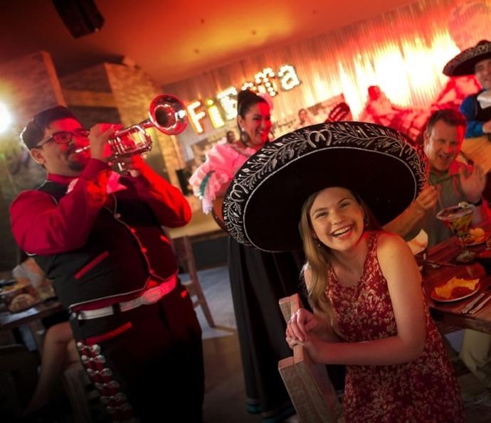 Música e gastronomia se encontram em um só lugar no Universal CityWalk (Foto: Divulgação)