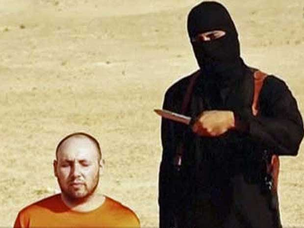 Jihad John matou jornalistas e voluntários (Foto: Reuters / SITE Intel Group)