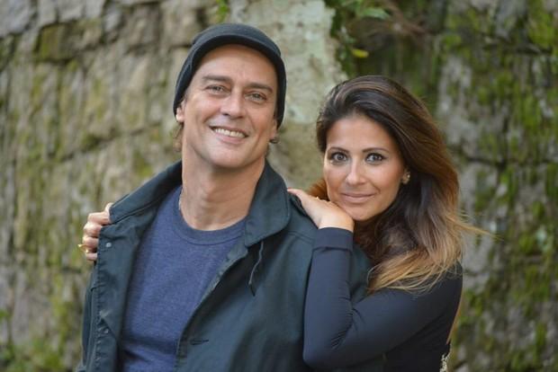 Marcello Antony e a esposa (Foto: Divulgação )