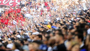 Corinthians x São Paulo torcida (Foto: Marcos Ribolli)