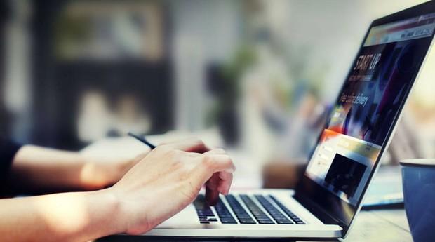Marketing digital, computador, notebook, startup, trabalhando (Foto: Divulgação)