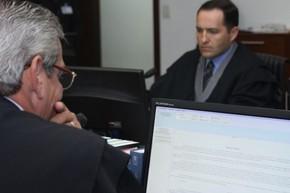 Sala de Sessões fica no térreo da sede do TRE-SC (Foto: Divulgação/TRE-SC)