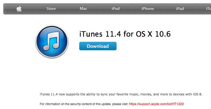 Baixe a versão anterior do iTunes (Foto: Reprodução/Helito Bijora)