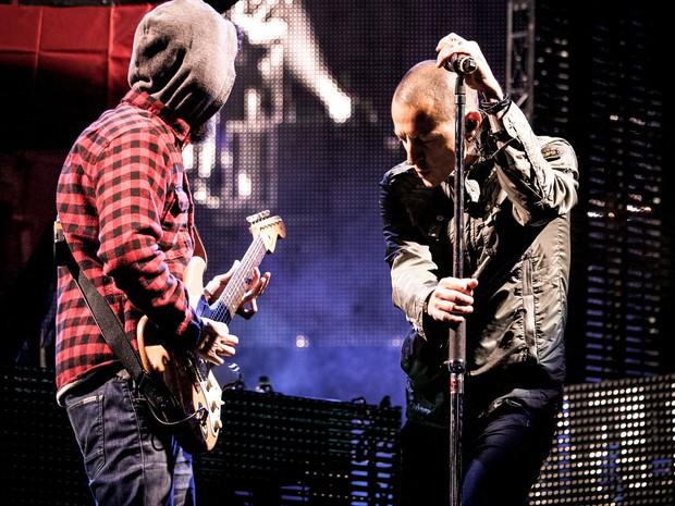 30/05 - A banda norte-americana Linkin Park é atração do Rock in Rio Lisboa (Foto: Divulgação/Rock in Rio Lisboa)