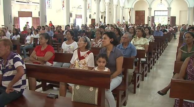 A Semana Santa é um período de reflexão e que pretende aproximar mais ainda os fiéis de Jesus  (Foto: Amazônia TV )