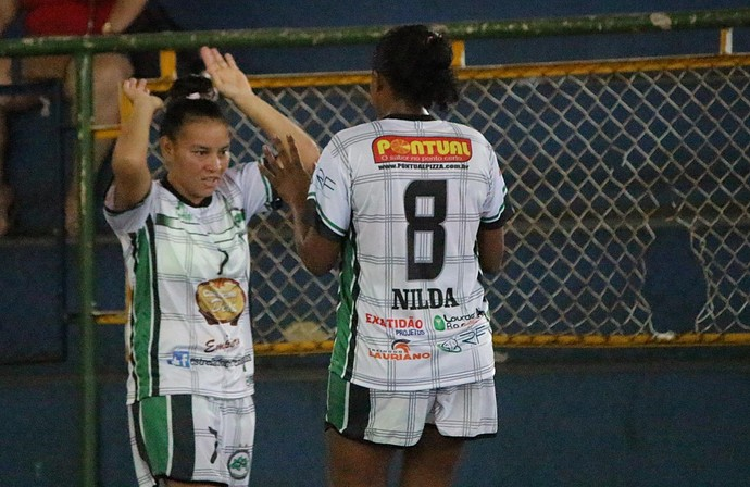 Estrela do Norte Paulinha futsal feminino (Foto: Emanuel Mendes Siqueira)