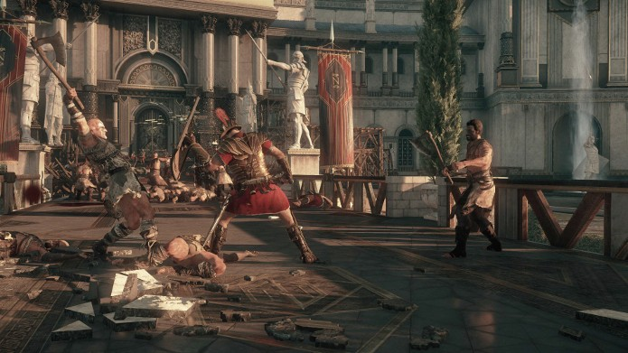 Ryse: Son of Rome chegará ao PC com suporte à resolução 4K. (Foto: Divulgação)